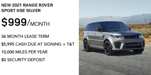 New 2021 Range Rover Sport HSE Silver