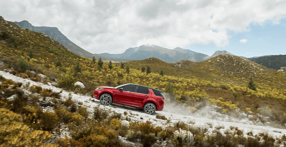 2020 Land Rover Discovery Sport Off-Road