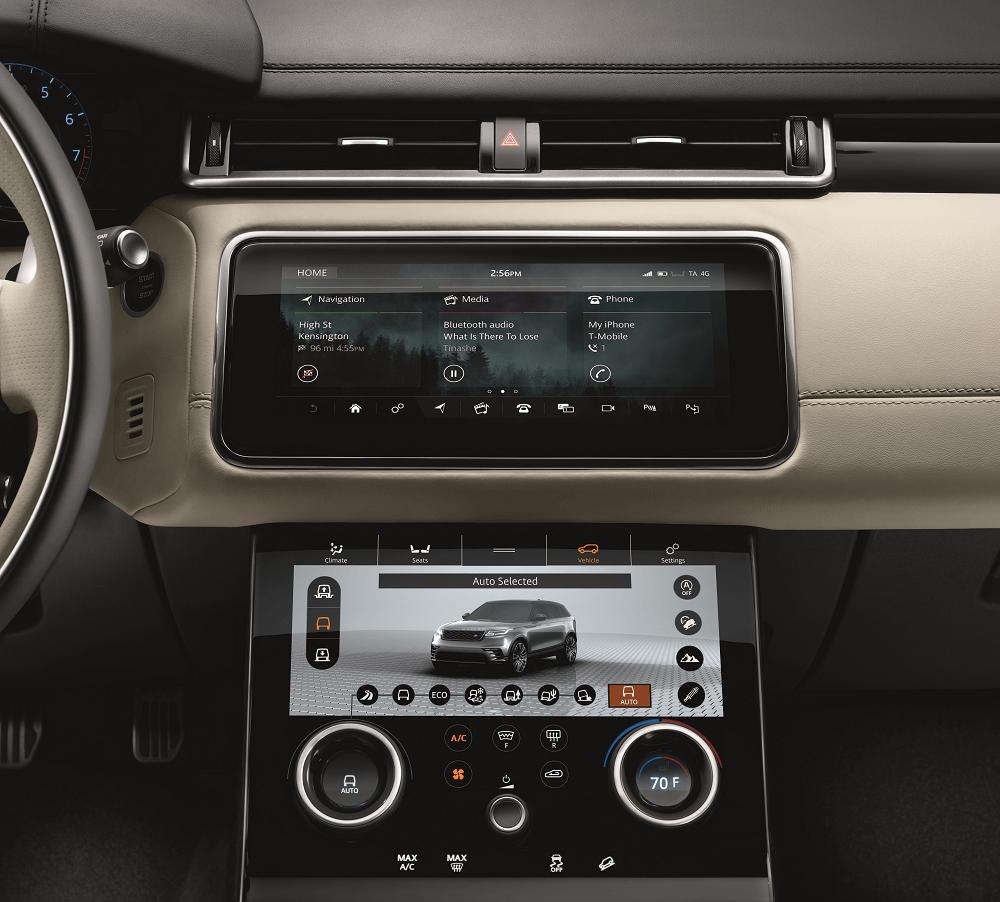 Range Rover Velar Technology Features