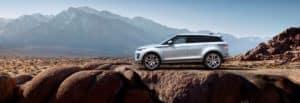 Driving Range Rover Evoque