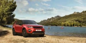 Driving the Land Rover Discovery Sport