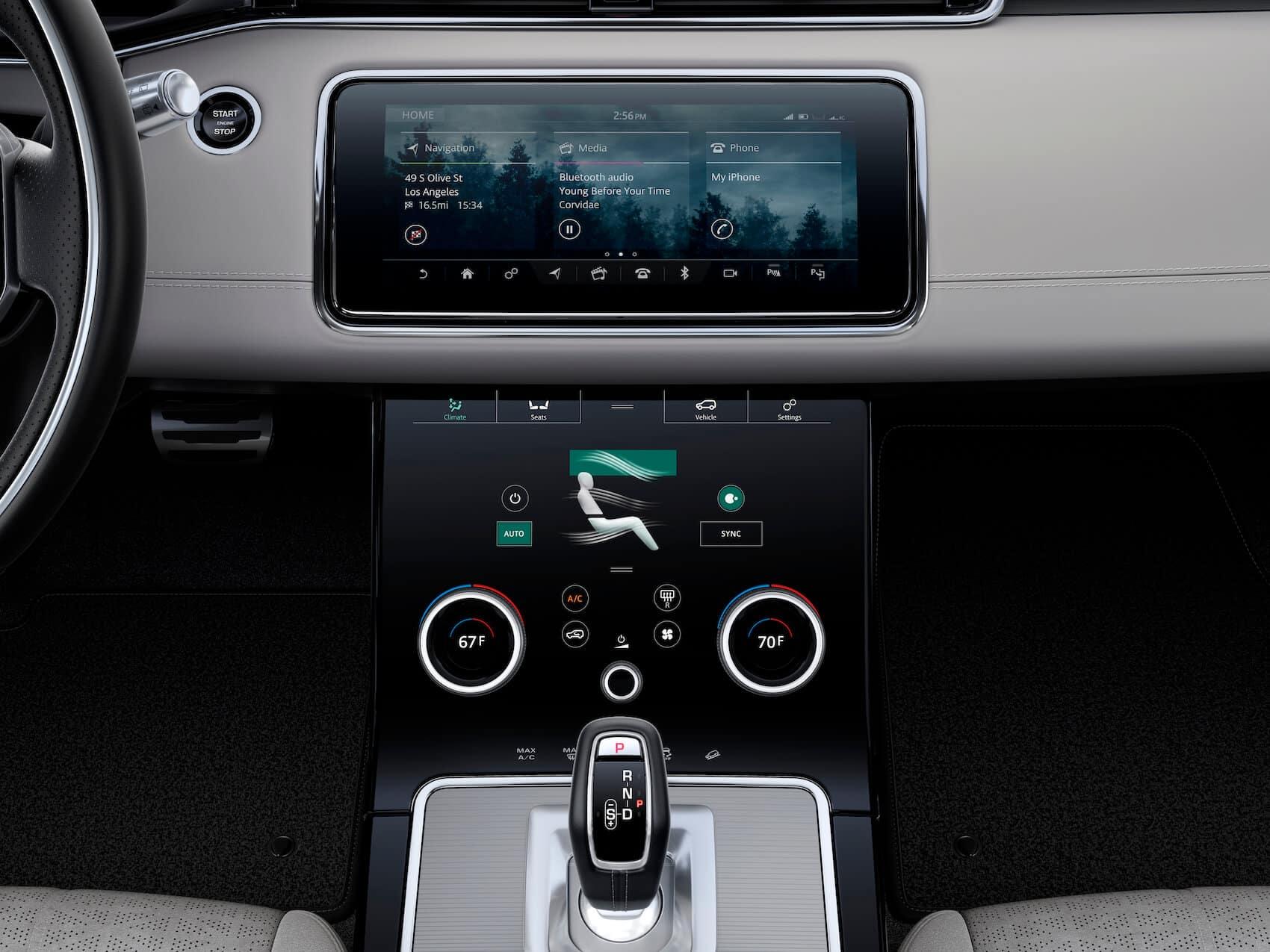 Range Rover Evoque Tech