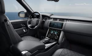 Range Rover Interior Technology