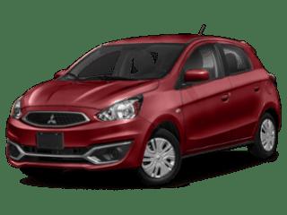2019 Mitsubishi Mirage - angled