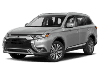 2019 Mitsubishi Outlander - angled