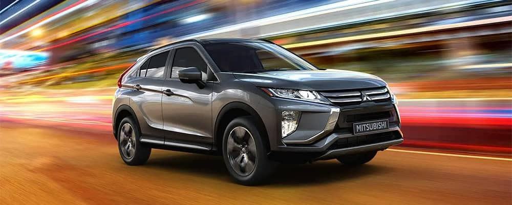 2020 Mitsubishi Eclipse Cross Driving