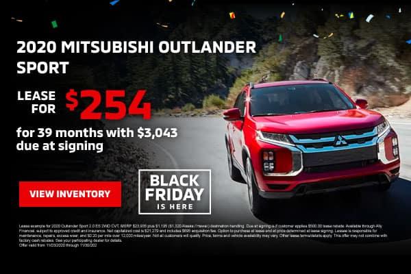 New 2020 Mitsubishi Outlander Sport