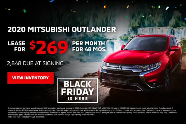 New 2020 Mitsubishi Outlander
