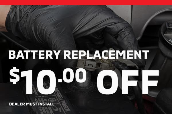 battery replacement $10 off