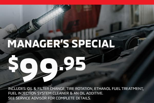 managers special $99.95