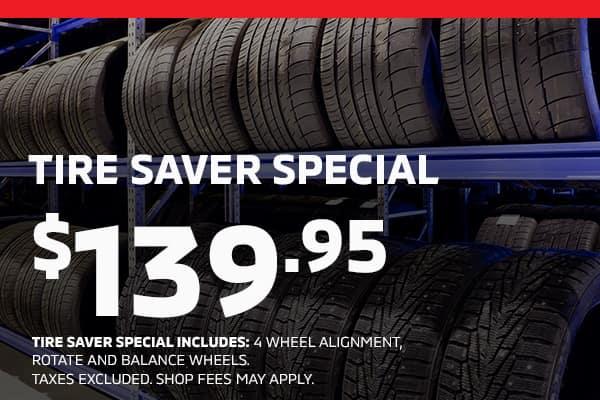 Tire saver special