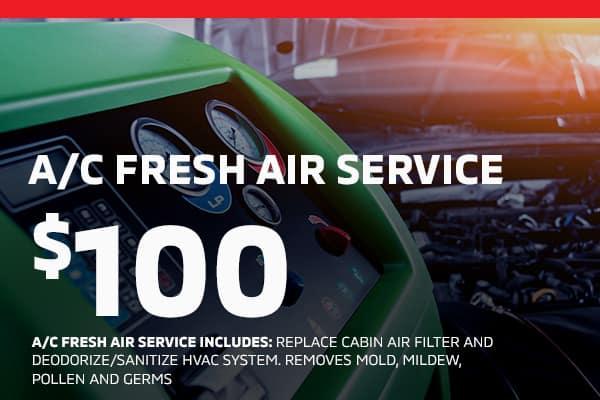 AC Fresh air service