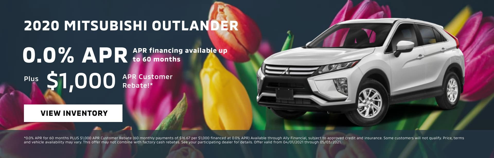 2020 Outlander - April