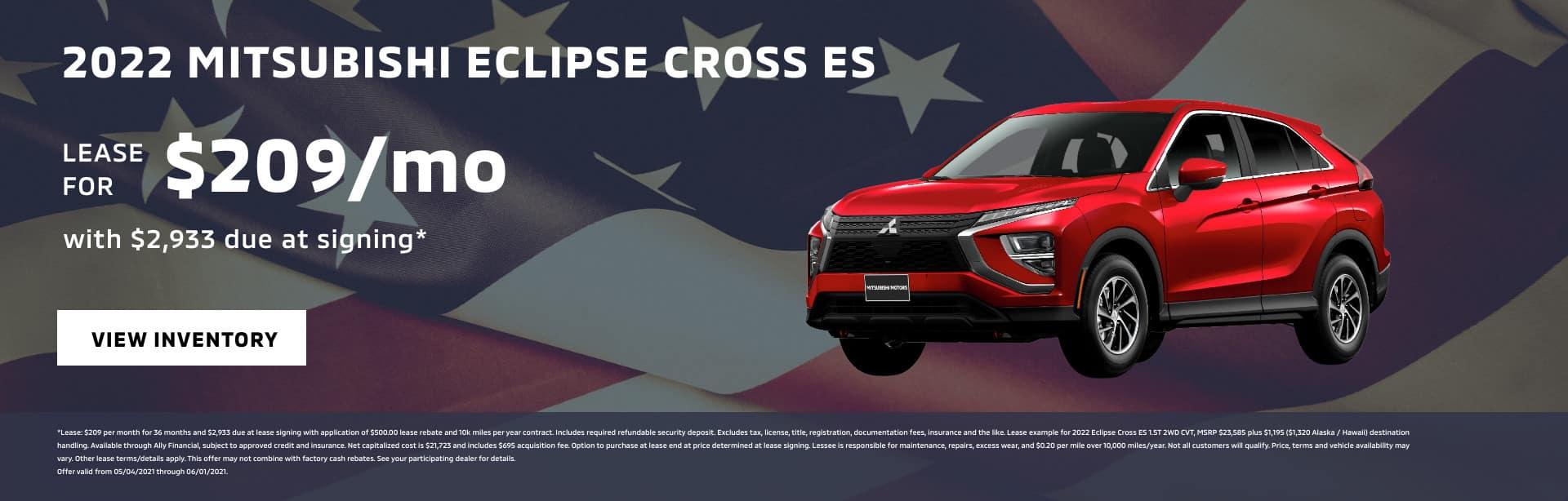 2022 Mitsubishi Eclipse Cross ES