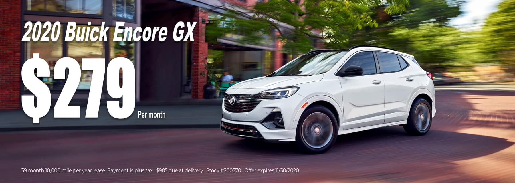 Buick Encore GX $279 per month in West Bend Wisconsin