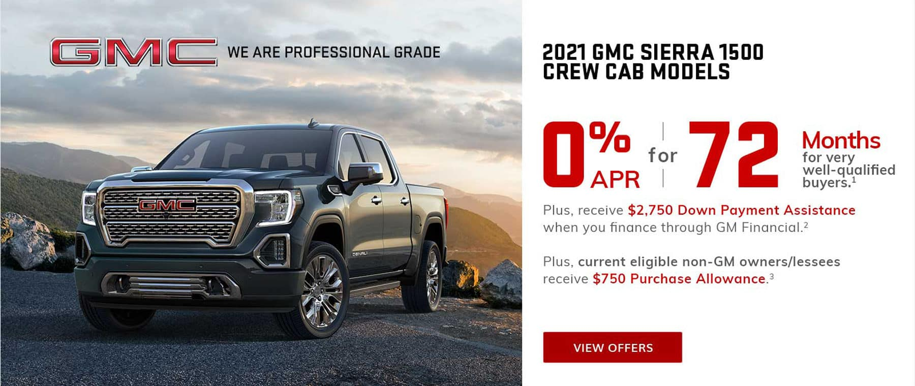 0% Financing for 72 months on GMC Sierra in West Bend WI