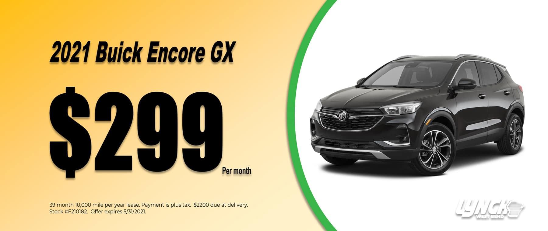 Encore GX Lease May 2021 Dealer Inspire