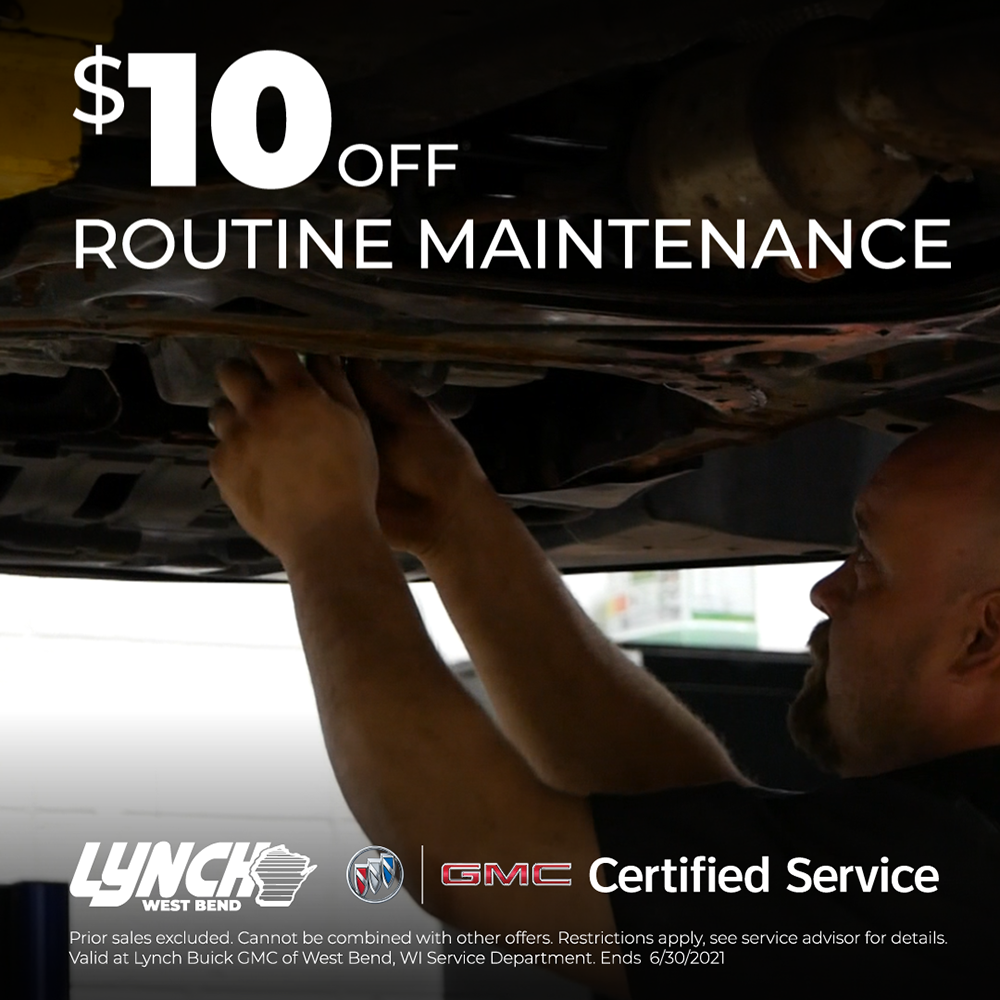 $10 off Routine Maintenance