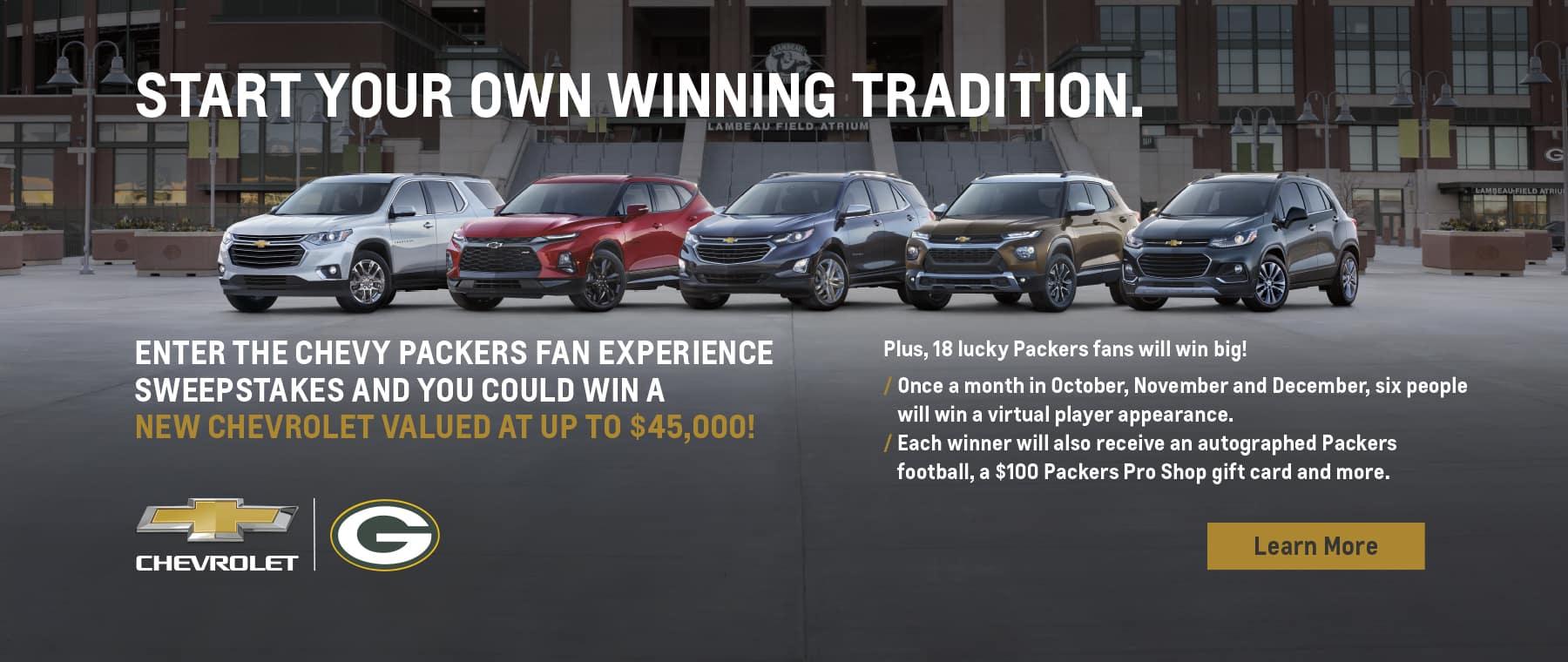 GM Packers Initiative