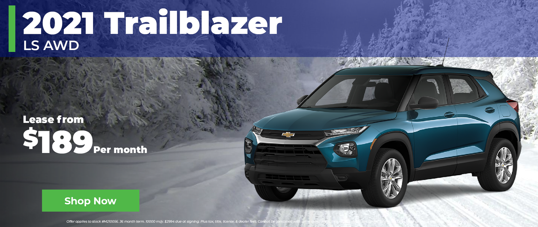 2021 Chevy Trailblazer $189 per month in Mukwonago WI