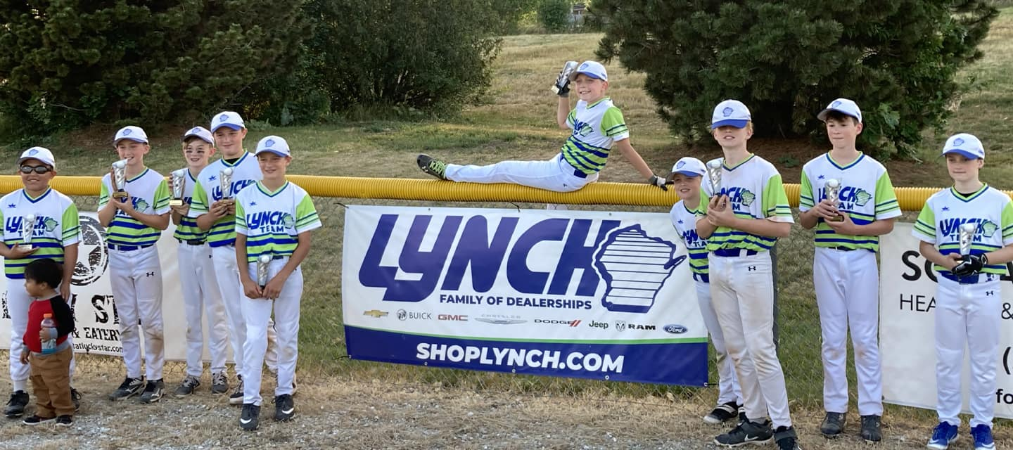 Lynch GM Superstore on the Beaumont Field billboard