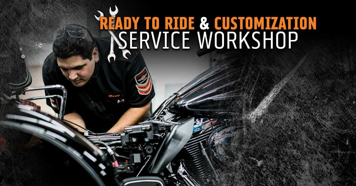 Ready to Ride and Customization Service Workshop