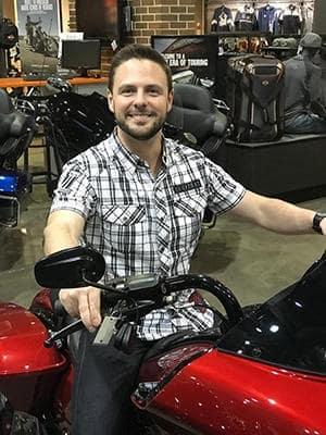 Manchester Harley owner