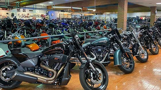 Manchester Harley Showroom