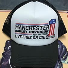Manchester Harley Trucker Cap