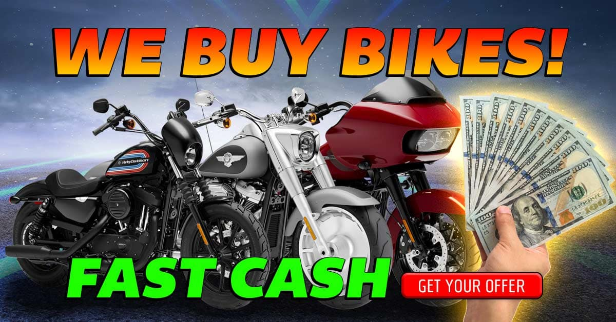Sell Your Motorcycle for fast cash