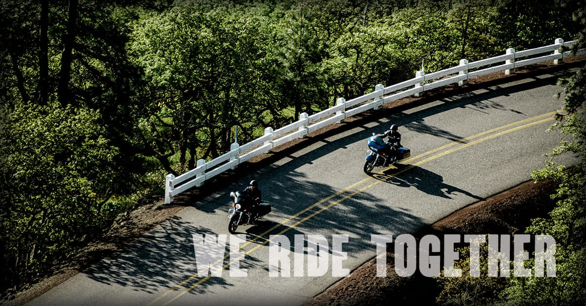 We Ride Together at Manchester Harley-Davidson in New Hampshire