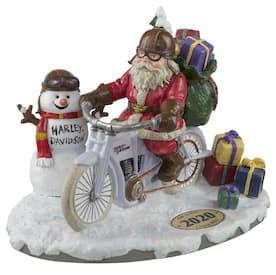 HDX-99181 Harley Biker Santa and Snowman