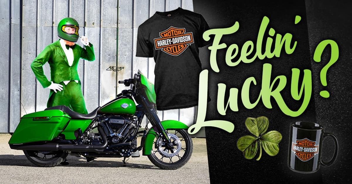 St Patrick's Day MotorClothes Features