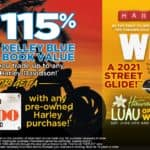 115% Kelley Blue Book Value on Trade or $1500 Gift Card on Pre-Owned Purchase