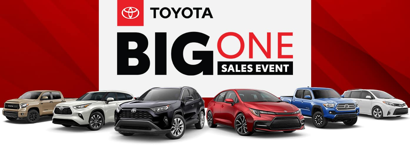 Big One Sales Event at Massey Toyota!