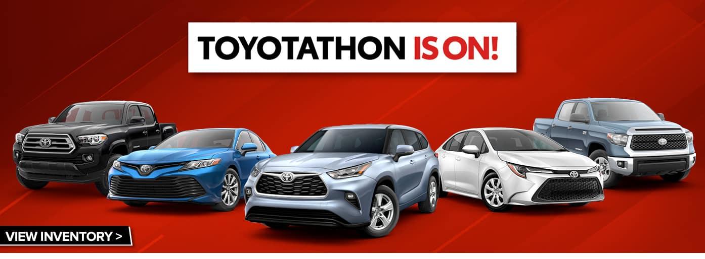 Toyotathon is On at Massey Toyota!