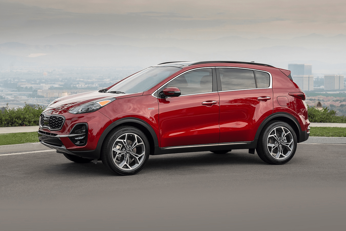 2020 Sportage side view