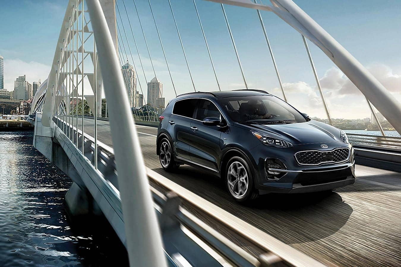 Sportage on Bridge