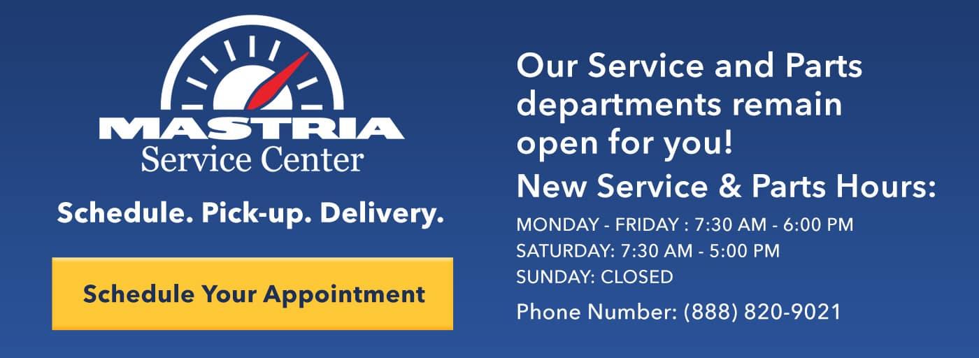 Service Slide Hours