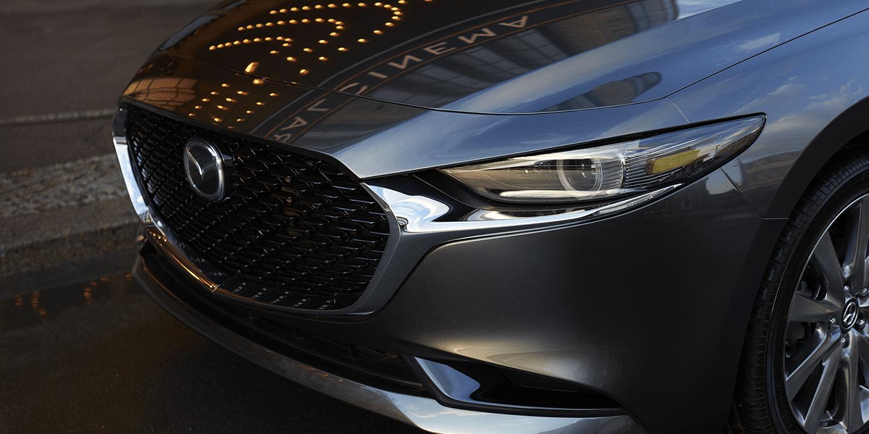 Mazda3 front headlight