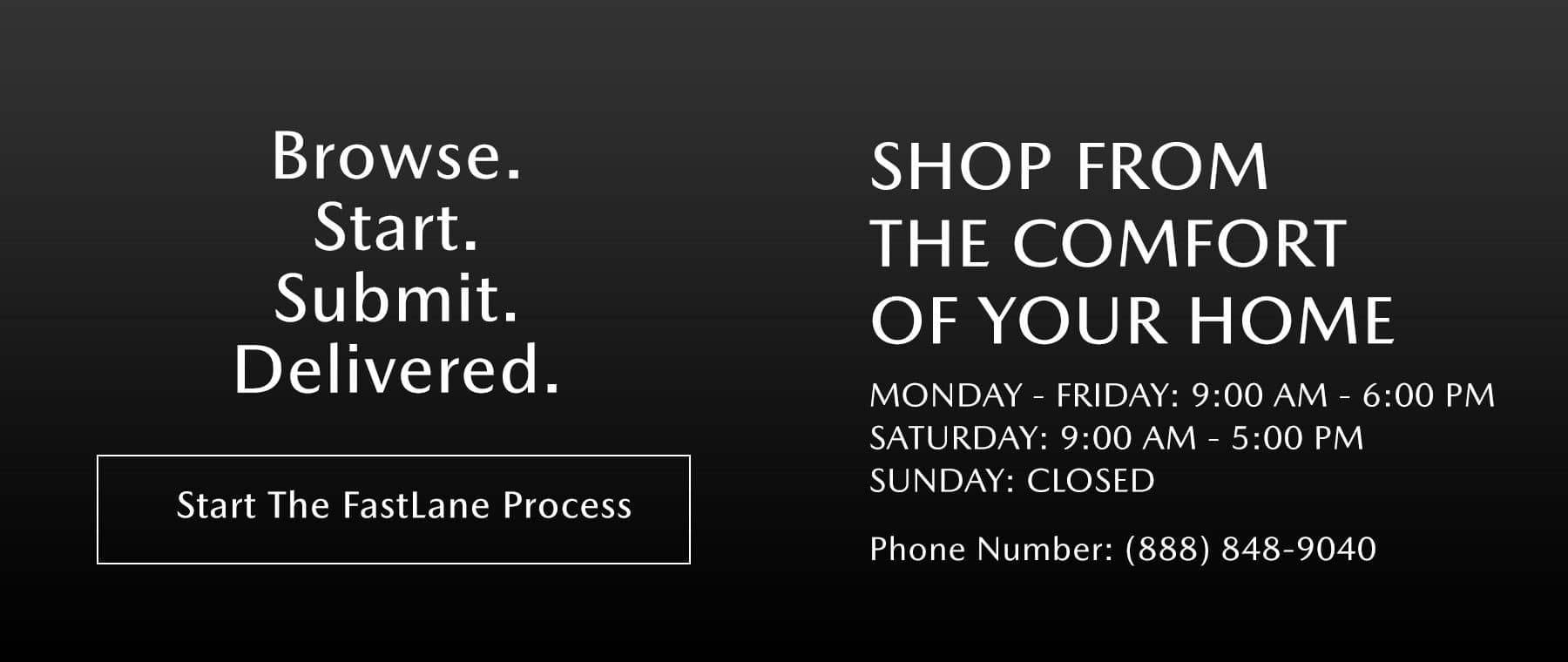 Business hours slide