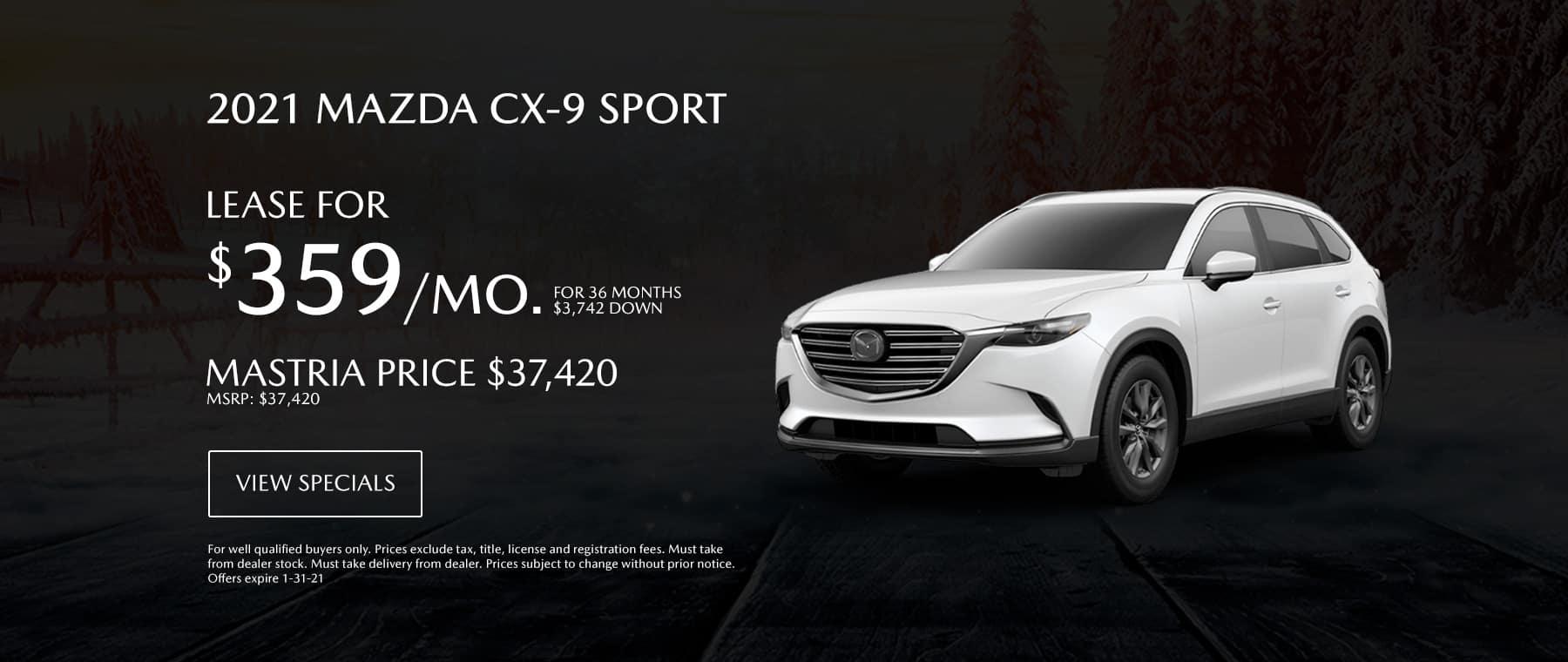 CX9 Special