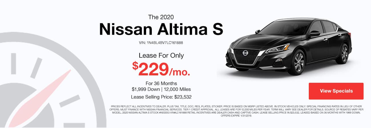Nissan Altima Special Image
