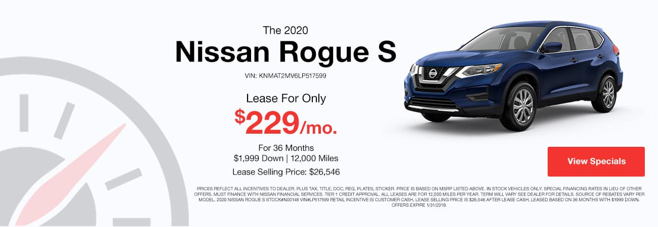 Nissan Rogue Special Image