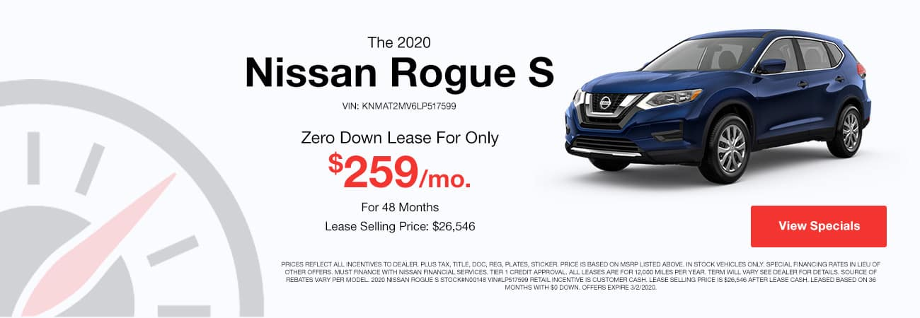 Nissan Rogue Offer Image