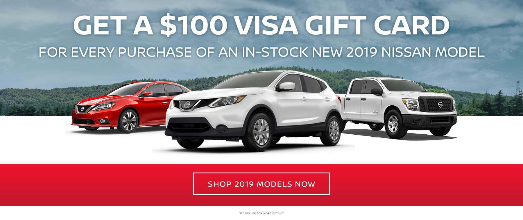 $100 Visa Gift Card Offer