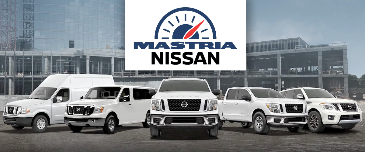mastria nissan commercial line up