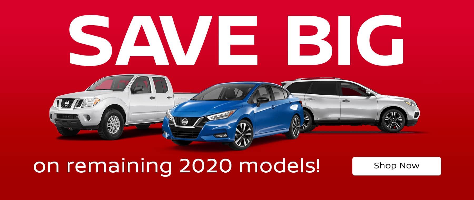 Save Big on 2020 Models