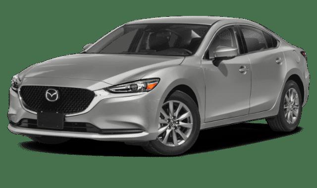 White 2019 Mazda6