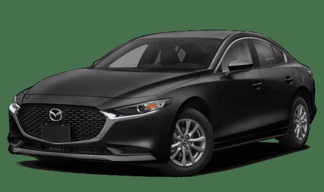 Black 2020 Mazda3